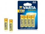 Varta Super R6/AA 1.5v (Солевая) Блистер 4