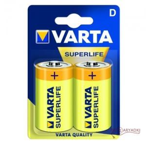 Varta SuperLife R20/D Б 2
