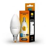 VIDEX LED Лампа C37e 5w E14 3000K 220v