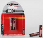 Ansmann R03/AAA Мини-пальчик 1000mah NiMH
