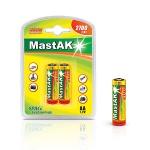 MastAK Пальчиковые R6/AA 2700mah NiMH