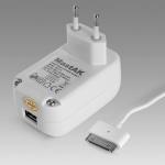 MastAK MFI-011 5V 2.1A+кабель iPhone
