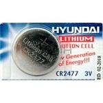 HYUNDAI CR2477  3V Litium