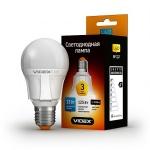 VIDEX LED Лампа A60 13w E27 3000K 220v