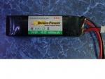 Литий-полимерная батарея Disire-power 14,8V 6000mAh-25С (42*44*168)582г. max50C