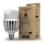 VIDEX LED Лампа A80 30w E27 6000K 220v Матовая