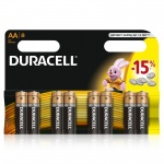 Duracell MN1500 R6/AA 1.5v (Alkaline)