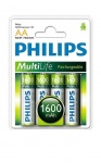 Philips Пальчиковые R6/AA 1600mah NiMH