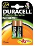 Duracell Supreme Пальчиковые R6/AA 2450mah NiMH