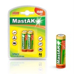 MastAK Пальчиковые R6/AA 1500mah NiMH