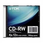 CD-RW диск TDK  x12