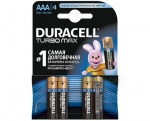 Duracell MX2400 TURBO 4 блистер AAA 1.5v (Alkaline)