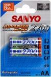 Sanyo Пальчиковые R6/AA 2700mah NiMH