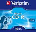 CD-R mini диск Verbatim  Audio
