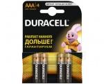 Duracell MN2400 4 блистер AAA 1.5v (Alkaline)